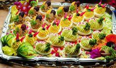 Töltött tojás vitaminsalátával - készítette Piri István mesterszakács