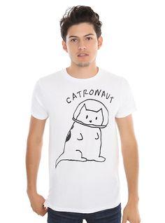 Catronaut Doodle T-Shirt,