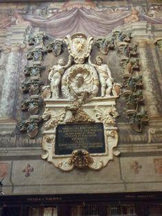 Archiginnasio in Bologna (University - oldest in the Western World)