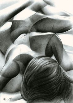 Nude - 13-01-16 (for sale) Graphite pencil (Pentel 0.5 mm, 3B) on Canson Bristol paper (21 x 29.7 x 0.01 cm - A4 format) sales info: info@corneakkers.com see more: www.corneakkers.com follow me at twitter: @Corne_Akkers #nude #art #arts #kunst #woman #model #Corné # Corne #Akkers #dutch #drawing #tekening #cubistic #kubisme #cubismo #cubisme #kubistisch #cubism #art deco #dessin #crayon #arte #arta #artista #artist #artiste #kunstenaar #rondisme #roundism