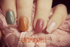Autumn Nails #NOTD #NAILS
