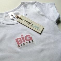 big sister by simplewear on Etsy