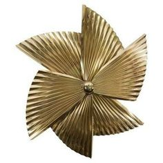 Great A Mid Century Curtis Jere Brass Pinwheel Wall Sculpture   Fine Art    Catalog   NY Showplace Antique And Design Center Great Ideas