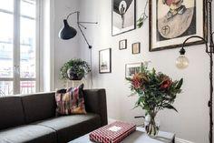 Недорогой дизайн для оригиналов: фото интерьера небольшой квартиры для креативщиков