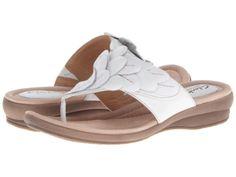 Clarks Reid Ricki White Leather Floral Womens Sandals 00273 BNIB | eBay