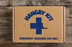 """An emergency snack kit to pull out whenever you're feeling truly """"hangry."""""""