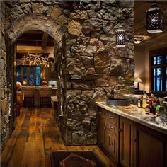 Country/Rustic (Country) Bar by Jerry Locati @Locati Architects