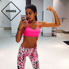 Victoria's Secret model Kelly Gale reveals the workouts and splurges that keep her going during a day in her very active life—even during the madness of fashion week.