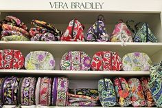 Vera Bradley  - I wish I could have every style in every color. They are so beautiful!