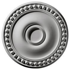 "19 1/8""OD x 4 1/2""ID x 1""P Foster Ceiling Medallion - 24 can be with or without drilled center holes for fan."