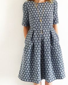 Mingo and Grace Dress Pattern //The Sara Project