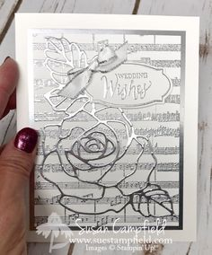 A Very Special Wedding Card and an Error