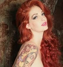 with tattoo