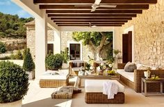 Beautiful Rooms: Cool and relaxing patios and porches
