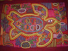 Cuna Molas Handmade Textiles Molitas Mola Art Of The Kuna Indians of San Blas Panama