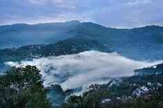 Sunrise in Gantok, Sikkim Photo by Darshan Sirigiri -- National Geographic Your Shot