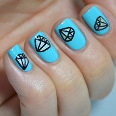 Diamonds are a girl's best friend! With tutorial!
