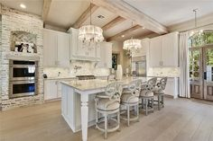 Comment your favorite feature in this ki - House Design Ideas 2019 Diy Home Decor Home Decor Kitchen, Kitchen Interior, New Kitchen, Diy Home Decor, Kitchen Ideas, Rustic Kitchen, Boho Home, Décor Boho, Kitchen Cabinetry