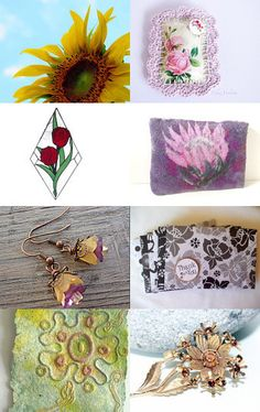 Flowers from the market by Valerie Brown on Etsy--Pinned with TreasuryPin.com