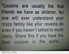My cousins, Jeremiah, Chad, Ruby and Jolee. And she's really my second cousin (my moms cousin) but I'll include Emily