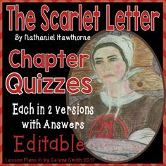 The Scarlet Letter Quizzes - Nathaniel Hawthorne