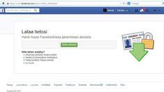 Facebook antaa ladata koko käyttöhistorian talteen.
