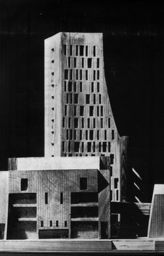 Civic Centre, New Delhi, India, Competition Entry, First Prize,...