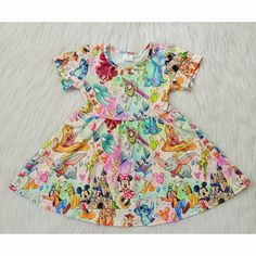 Short Sleeve Dresses, Dresses With Sleeves, Summer Set, Baby Girls, Rompers, Ship, Summer Dresses, Kids, Clothes