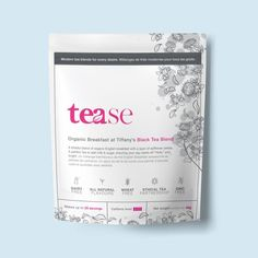 """A blissful blend of organic English breakfast with a layer of safflower petals. A perfect tea to add milk & sugar, ensuring your day starts off """"Holly"""" and bright. Loose-leaf up to 20 servings Pyramid bags = 25 individual bags English Breakfast Tea, Breakfast At Tiffanys, Tea Blends, Tea Cups, Organic, Milk, Sugar, Bright, Caffeine"""