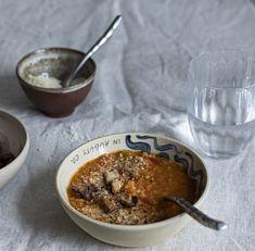Polévka z červené čočky, kterou si zamilují i děti | Oatmeal, Pudding, Breakfast, Desserts, Food, The Oatmeal, Flan, Postres, Rolled Oats