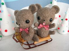 Teddy's Sledding by Fantastic Toys, via Flickr