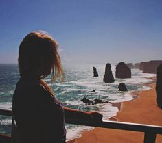 Gonna miss you straya   I come from a land down under... |Men at work  #tb #roadtrip #sunset #greatoceanroad #backpackerlife #travelling #12apostles #backpacking #birthday #downunder #everyday is a #beachday #australia #ocean  by me_lanie_d