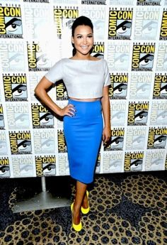 Hot Style: Show Some Modest Skin with crop tops and cut outs Naya Rivera