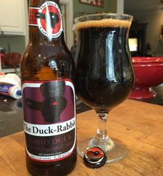 Rabid Duck RIS from local NC #duckrabbitbrewery #stout #stoutwhisperer #craftbeer