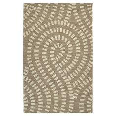 Patterned wool rug handmade in India.  Product: RugConstruction Material: 100% WoolColor: Nutmeg...