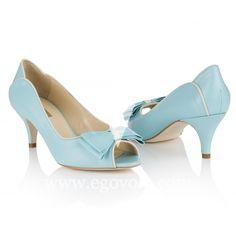 Zapatos de Novia Lulu Azul Celeste
