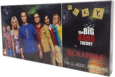 Big Bang Theory Scrabble Game @ niftywarehouse.com