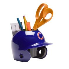 MLB Los Angeles Dodgers Desk Caddy Officially licensed by Major League Baseball Helmet in team colors Features team logo Clean with a damp cloth mini helmet design holds pencils, pens, scissors and business cards a perfect fit on anyone's desk Gifts For Baseball Lovers, Baseball Gifts, Fsu Baseball, Baseball Savings, Indians Baseball, Softball, Chicago White Sox, Boston Red Sox, Boston Sports