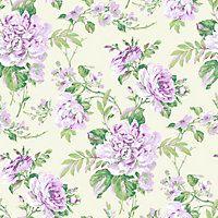 Gran Deco Bouquet Wallpaper - Lilac