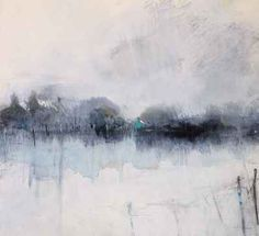 Hannah Woodman - Cottages Over the Field, Winter