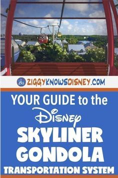 The Skyliner Gondolas are an exciting new transportation system opening at Disney World! Plan your travel between the parks and your resort in a fun way that includes a bird's-eye view! This complete guide from Ziggy Knows Disney includes details about the Gondola cars, air-cooling system, map of the routes, and a peek at future expansion!