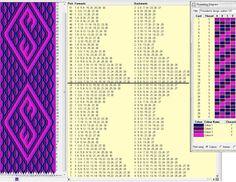 30 tarjetas, 4 colores, repite dibujo cada 28 movimientos // sed_105༺❁