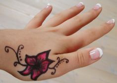 Tattoos for Women On Wrist and Hand | Tattoo On Hand, tattoo designs, tattooing, tattoos, designs, piercing ...