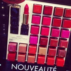 Novedades para tus labios nueva temporada! Color + efecto gloss!!! Sigue nuestros tips desde www.thecreativemachinery.com