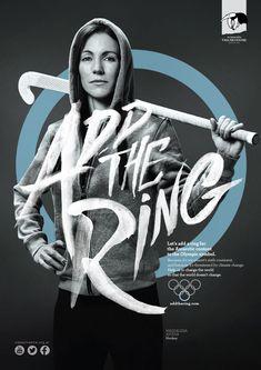 Die argentinische Hockey-Spielerin Magdalena Aicega ist eines der Testimonials ...