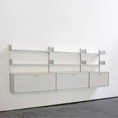 Located using retrostart.com > Vitsoe 606 Wall Unit by Dieter Rams for Vitsoe