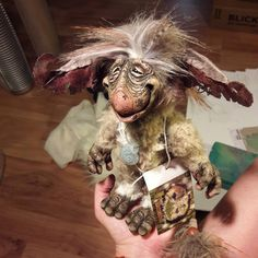 This listing is for my chanter doll Cooper he is a funny little guy and is sculpted by me and casted in resin at home. He is disc jointed so his head can turn, his arms and legs can also move by the disc joint. His tail and ears are made poseable by wire inside. Have fun posing him outdoors in his natural habitiat! His measurements are: Body: 8 standing 6 sitting Ears: tip to tip 8 Tail: 8 He comes with a certificate of authenticity and a nice hang tag  He is an art doll and not a toy, he is…