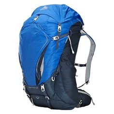 Gregory Contour 60 Reflex Blue - Small is a men's Mountaineering backpack with excellent combination of load-hauling capability and intuitive access features.