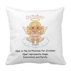 October Birthstone Angel Blonde Pillows  http://www.zazzle.com/october_birthstone_angel_blonde_pillows-189222876925074136?rf=238631258595245556