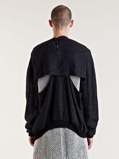 Damir Doma SS09 Cutout Detail Jacket